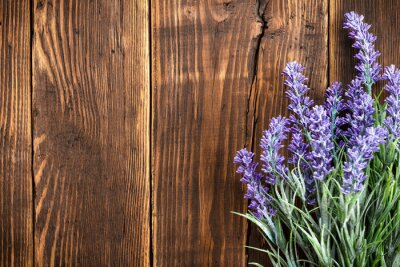 Wall mural lavender