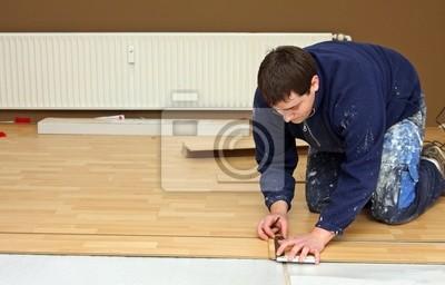 Lay flooring