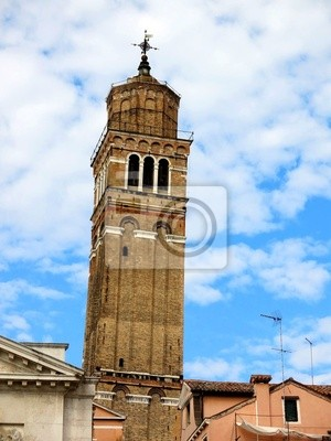 Leaning Tower Venice Italy