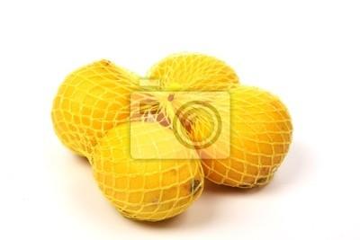 lemon in a net