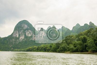 Li river landscape in china