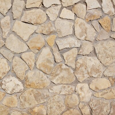 Wall mural light old stone wall background