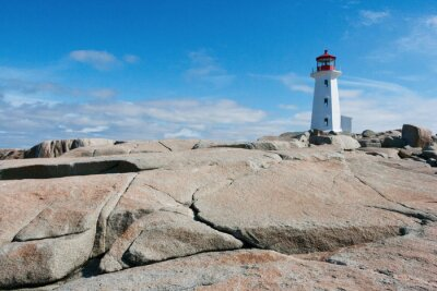 Wall mural Lighthouse in Peggy's Cove