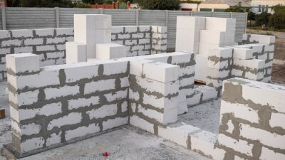 Wall mural lightweight concrete block the bricks used in the construction of the new series are popular. Reduce heat resistant, lightweight, strong