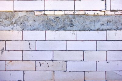Wall mural lightweight concrete block  the bricks used in the construction of the new series are popular. Reduce heat resistant, lightweight, strong, easy construction.
