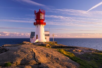 Wall mural Lindesnes Lighthouse
