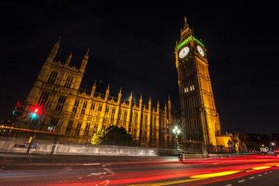 Wall mural London Big Ben at night