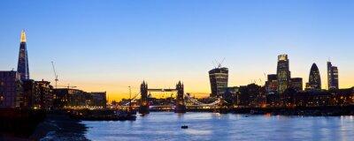 Wall mural London Skyline Panoramic