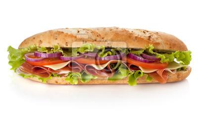 Wall mural Long sandwich