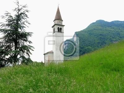 Longarone Church Tower Italy