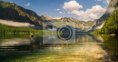 Łowienie ryb w scenerii Alp