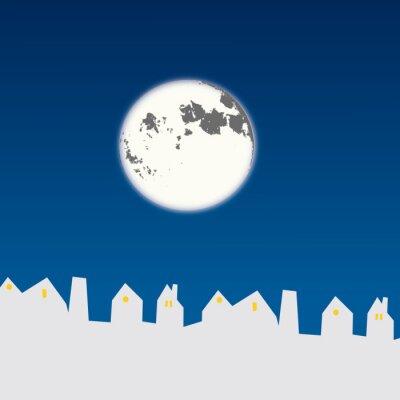 Lune maison