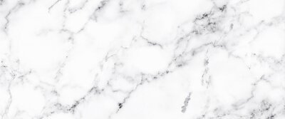 Wall mural Luxury of white marble texture and background for decorative design pattern art work. Marble with high resolution