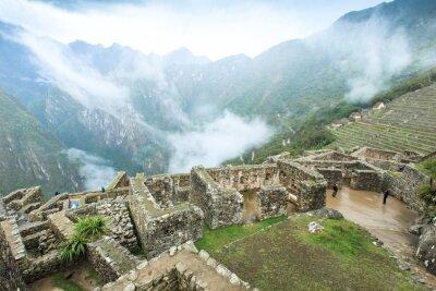 Wall mural Machu Picchu, a UNESCO World Heritage Site
