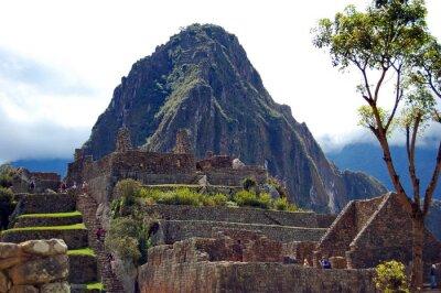 Wall mural Machu Picchu and Huayna Picchu
