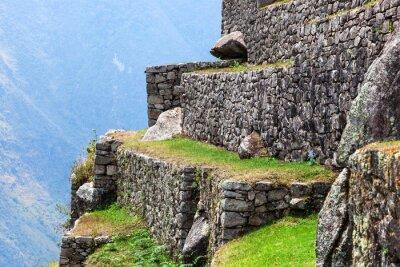 Wall mural Machu Picchu, the old walls