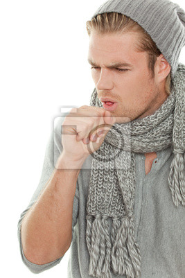 man has a cold