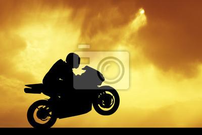 man on the bike