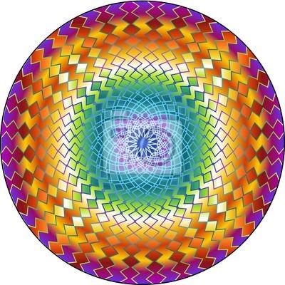 Mandala Hypnotic Circle-Ipnotico Cerchio-Vector