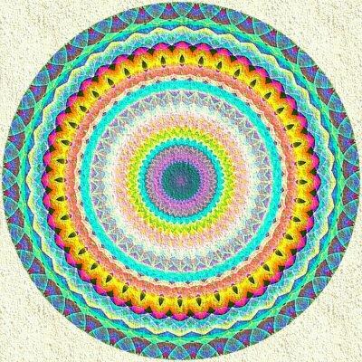 Wall mural Mandala Ornament