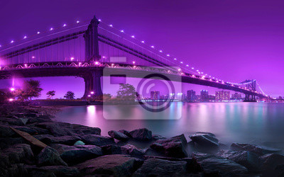 Wall mural Manhattan Bridge New York City
