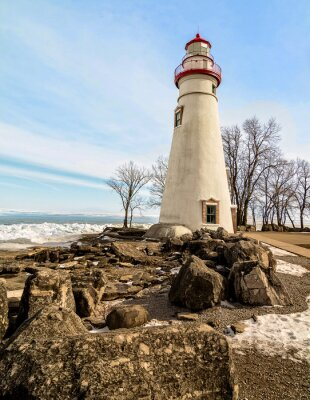 Wall mural Marblehead Lighthouse