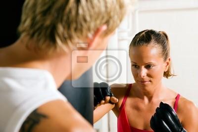 Martial Arts Couple