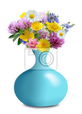 meadow flowers in vase