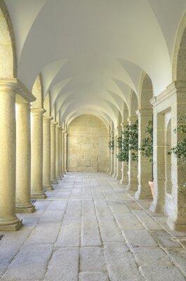 Wall mural Mediterranean court of columns