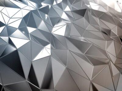 Wall mural Metal abstract surface