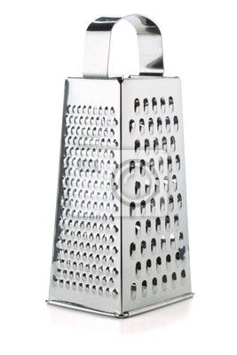 Metal grater
