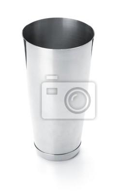 Metal part of boston cocktail shaker
