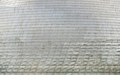 Metal surface texture with samples