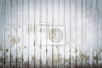 Metallic dirty wall
