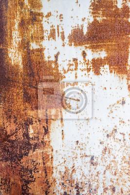 Metallic rusty texture