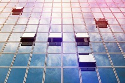 Wall mural Moden Business Office Building Windows