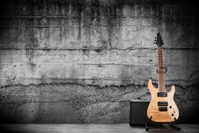 Wall mural Modern electric guitar
