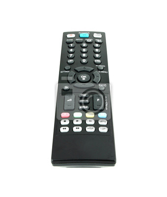 Wall mural modern tv remote