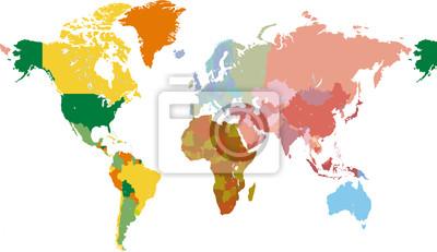 monde en couleurs