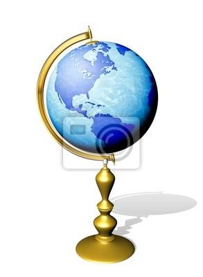 Mondo Mappamondo-Globe Earth-1