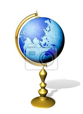 Mondo Mappamondo-Globe Earth-2