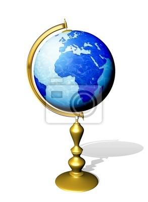 Mondo Mappamondo-Globe Earth