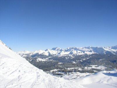 Montagne enneigée 15