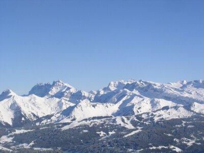 Montagne enneigée 16
