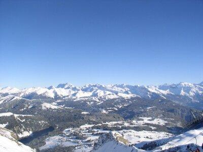 Montagne enneigée 17