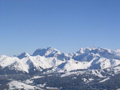 Montagne enneigée 24