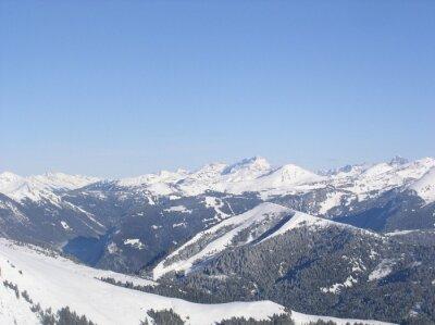 Montagne enneigée 25