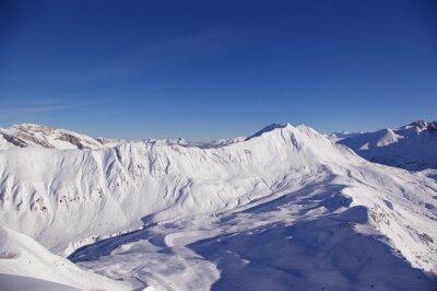 Montagne enneigée 5