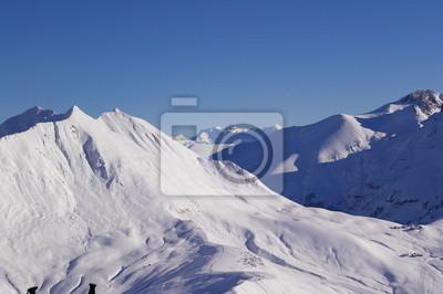 Montagne enneigée 6