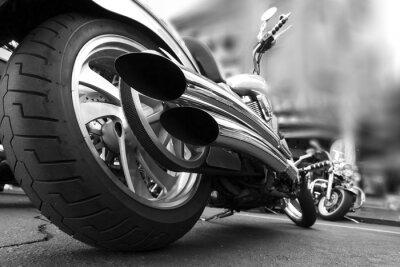 Wall mural Motorcycle